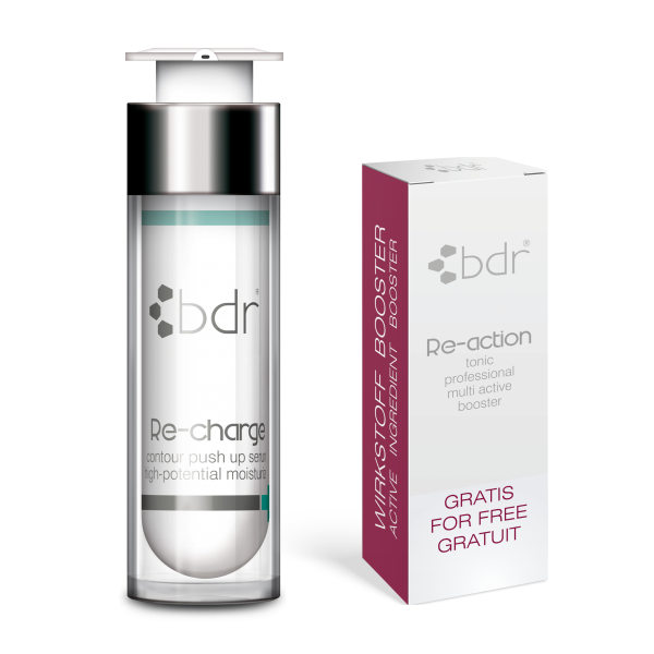 Re-charge Hyaluronserum + Re-action tonic Wirkstoffbooster